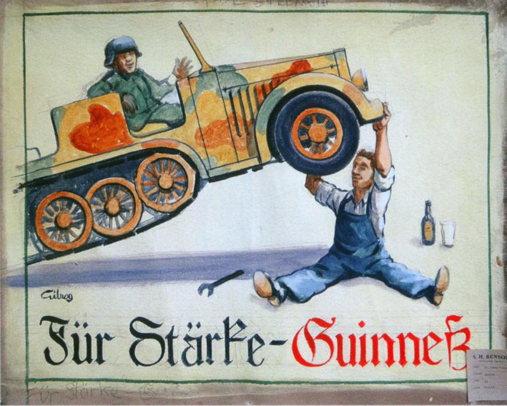 Guinness halftrack