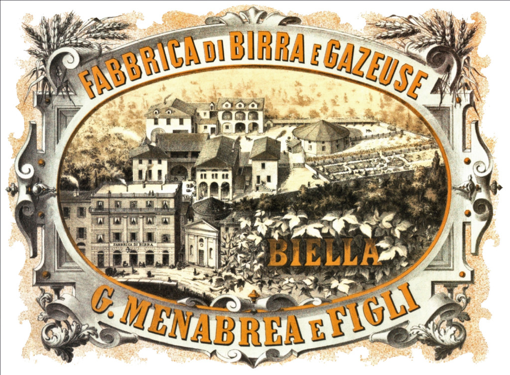 Menabrea brewery drawing 19thC