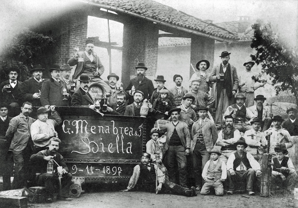 A Menabrea staff photo from 1897