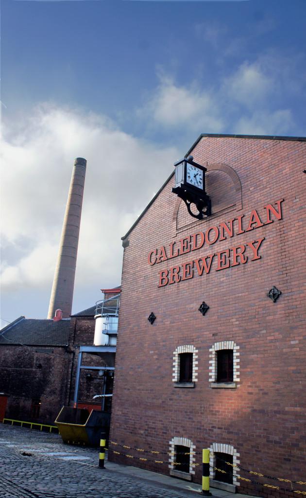 Caledonian brewery, Edinburgh, 2015