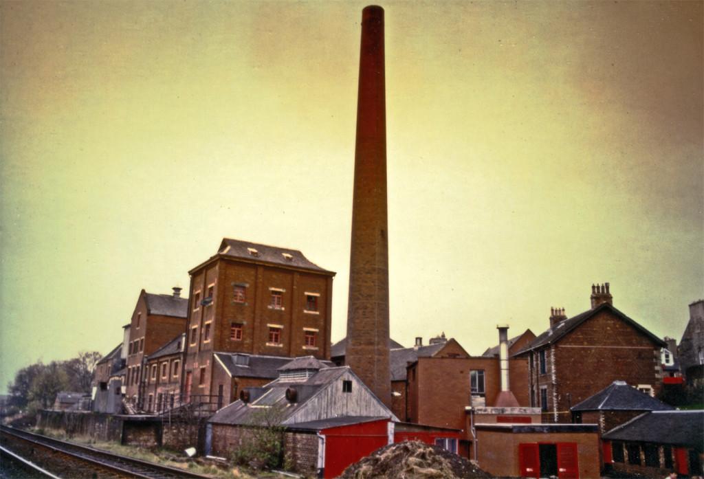 The Caledonian brewery, Edinburgh in 1989