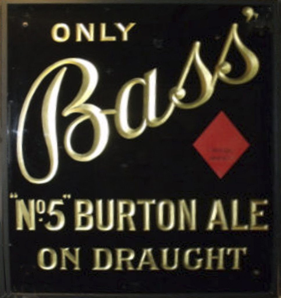 Bass No 5 sign