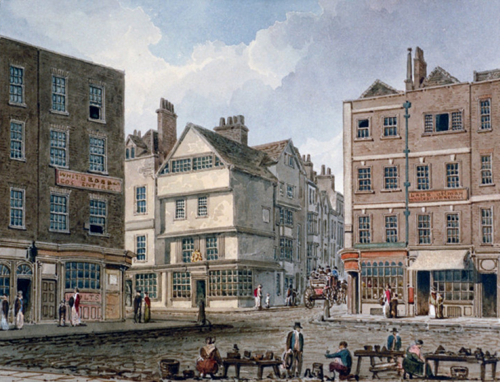 Gray's Inn Lane around 1810 or 1820