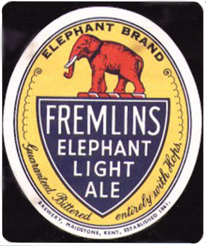 Fremlins light ale