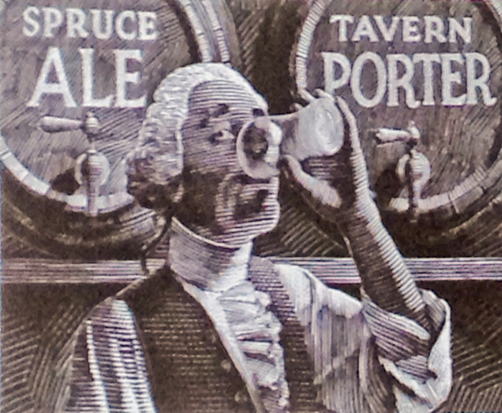 Spruce ale and tavern porter
