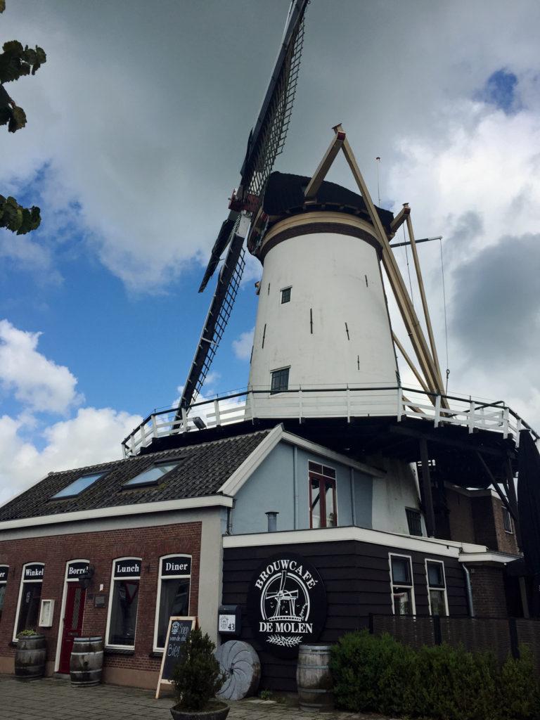 The De Molen mill in Bodegraven